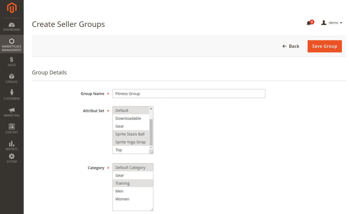 webkul-magento2-b2b-wholesale-marketplace-admin-create-seller-group