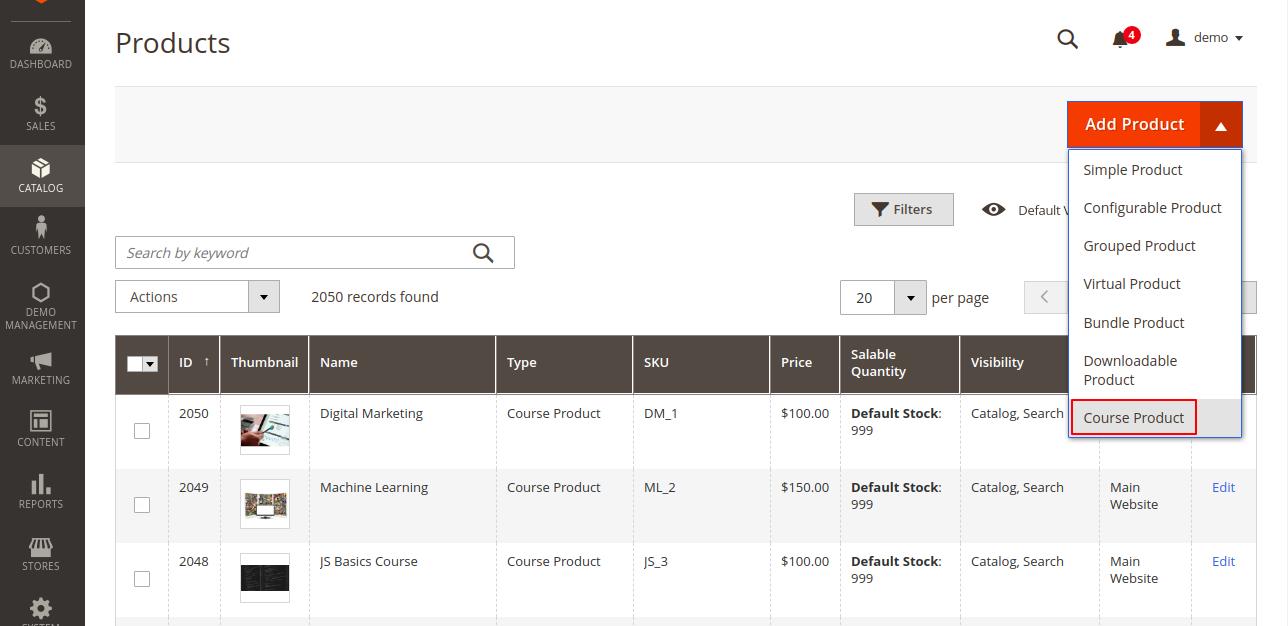 webkul-magento2-learning-management-marketplace-course-product-type