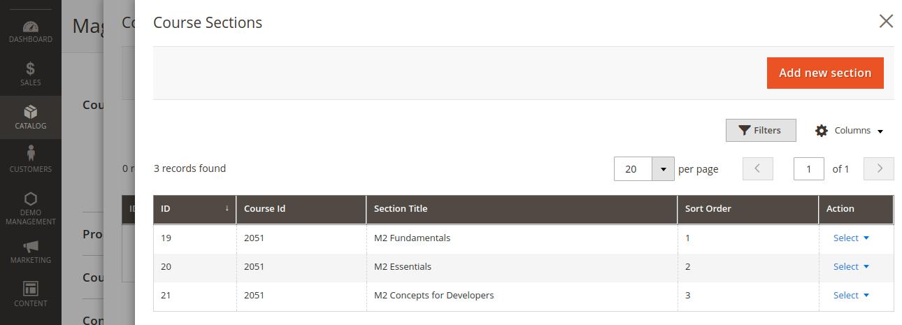 webkul-magento2-learning-management-marketplace-course-section-added
