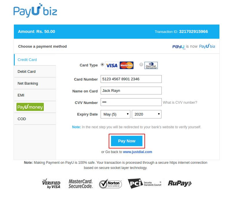 webkul-magento2-marketplace-payumoney-payment-gateway-add-details-to-pay-1