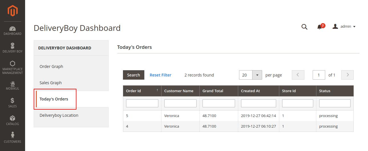 webkul-magento2-mobikul-delivery-boy-app-todays-orders