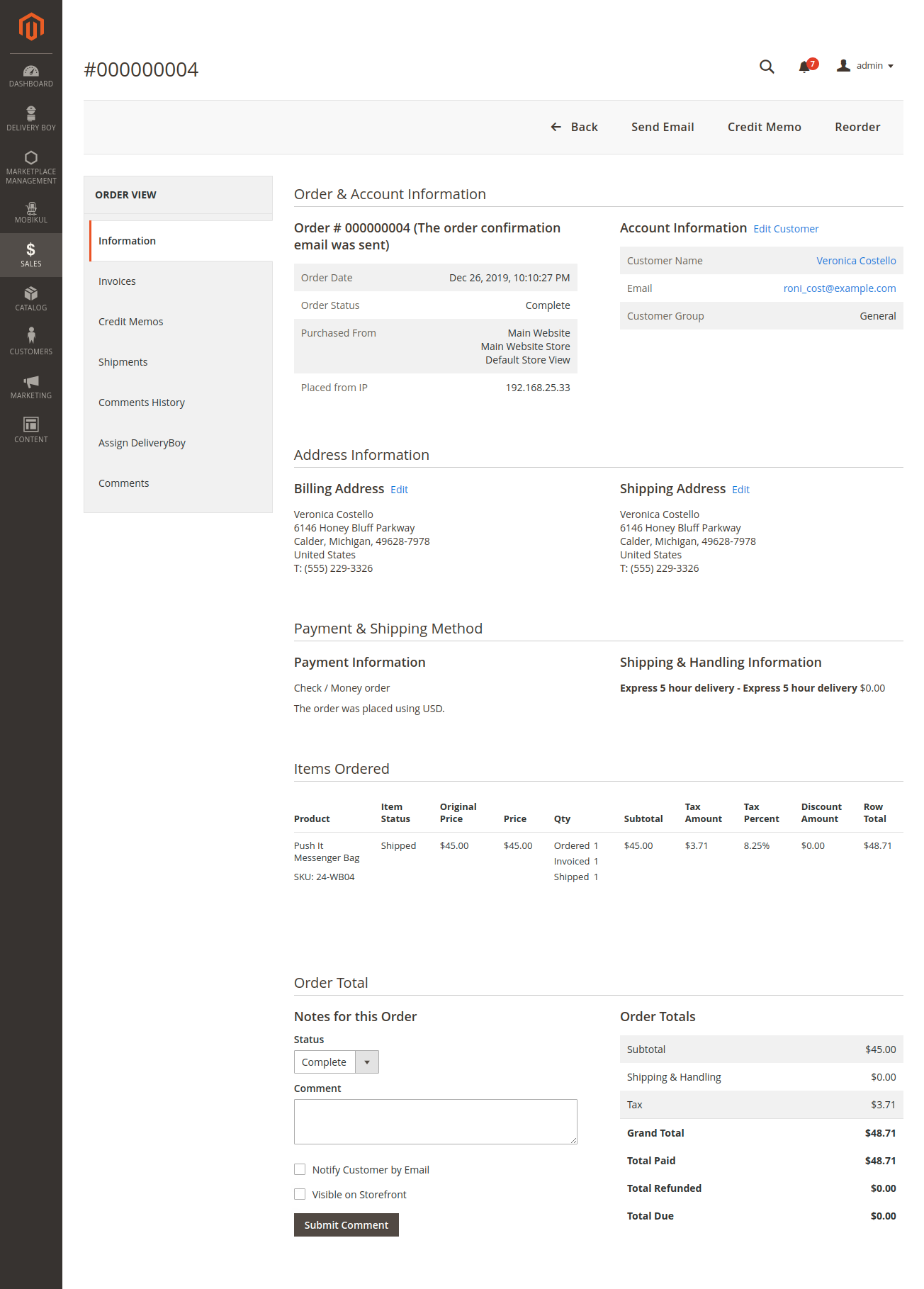 webkul-magento2-mobikul-delivery-boy-app-view-order-details