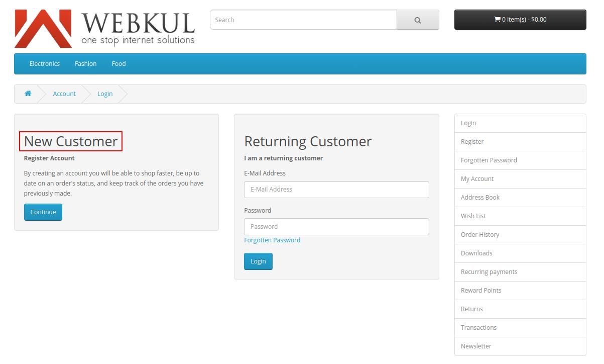 webkul-opencart-web-application-firewall-security-new-customer-login