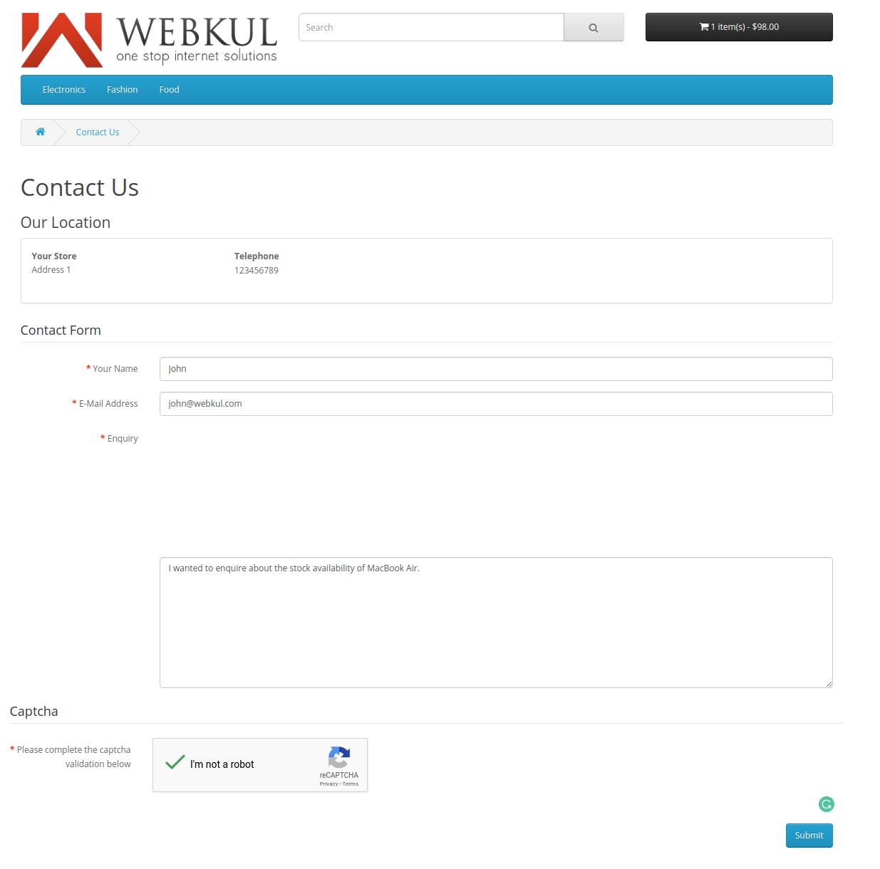 webkul-opencart-web-application-firewall-security-recaptcha-at-contact-us-form