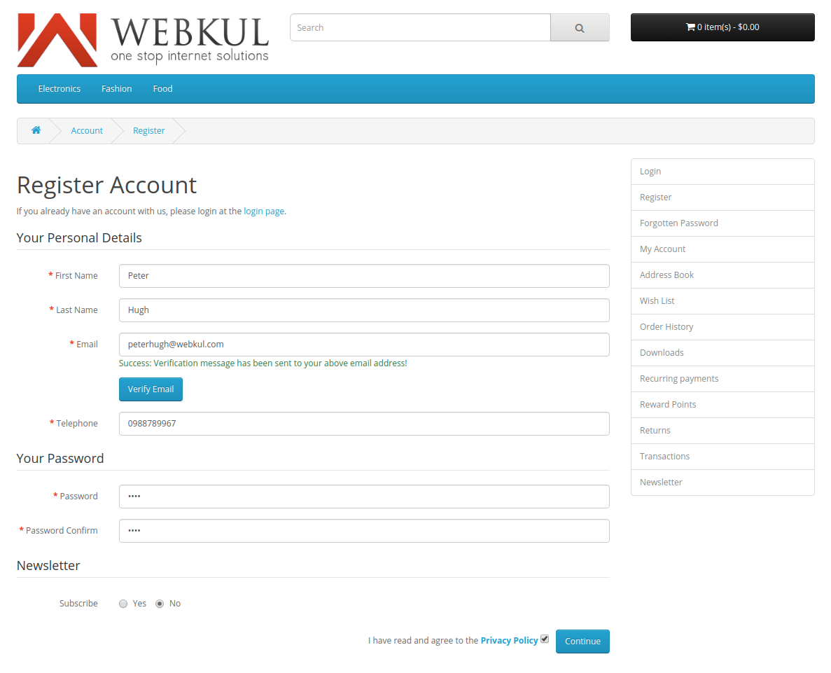 webkul-opencart-web-application-firewall-security-verification-email-sent-to-new-customer