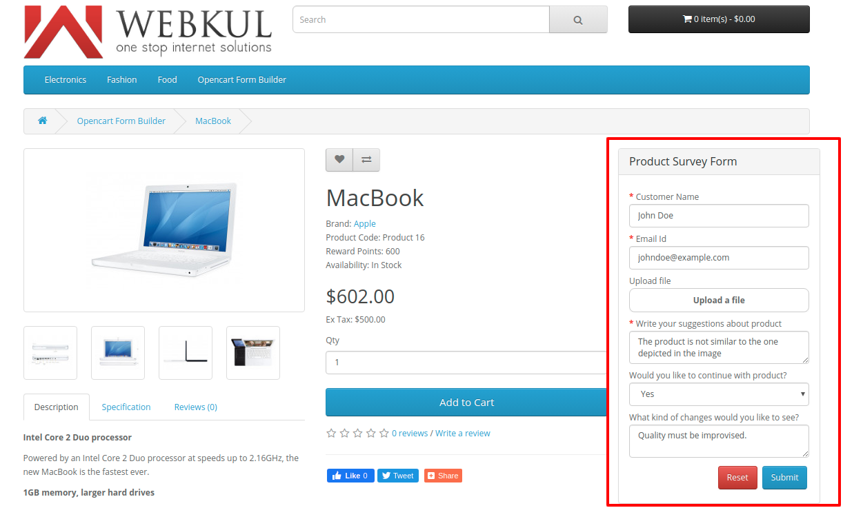webkul_opencart-form-builder-Customer-_front-product-page