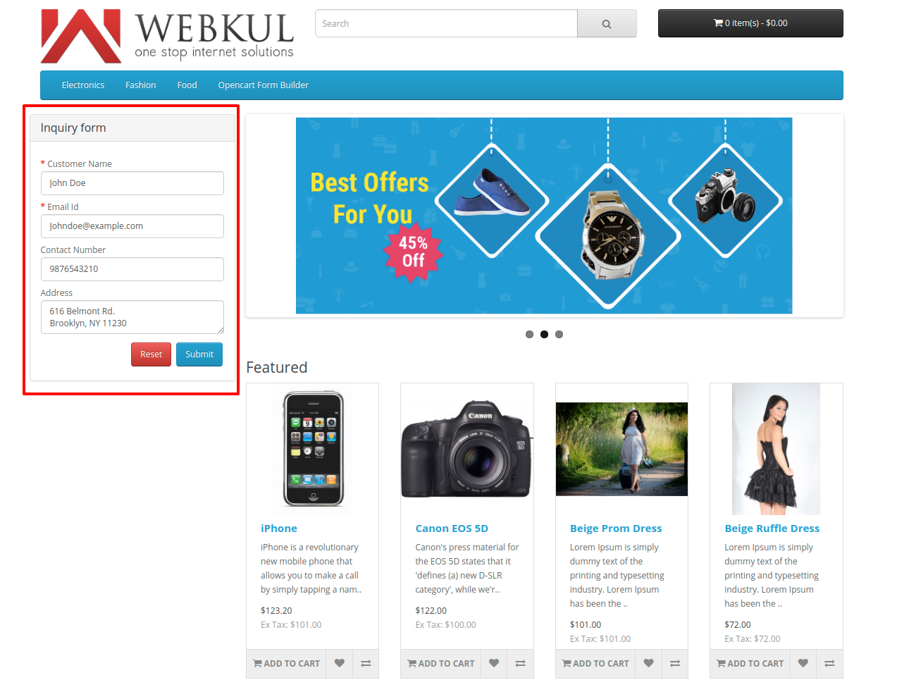 webkul_opencart-form-builder-Customer_front_end_inquiry_form
