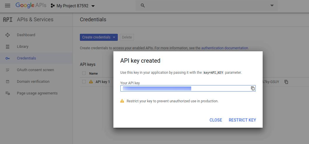 Google-API-step-8