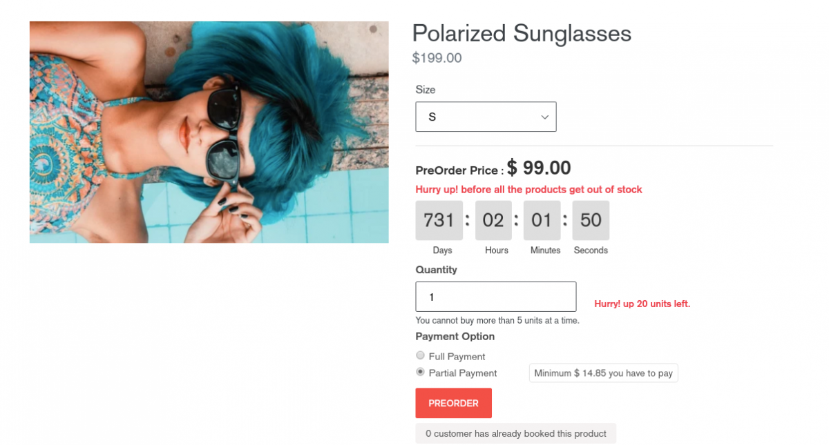 preorder product-Boost Conversions