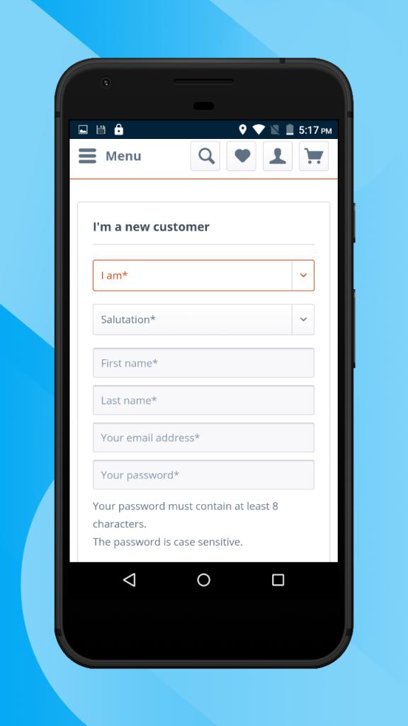 Shopware-hybrid-mobile-app-new-customer5