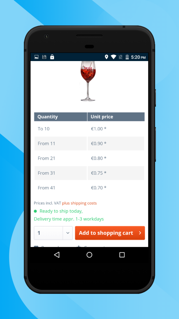 Shopware-hybrid-mobile-app-product-page6