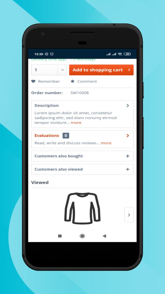Shopware-hybrid-mobile-app-share-comment