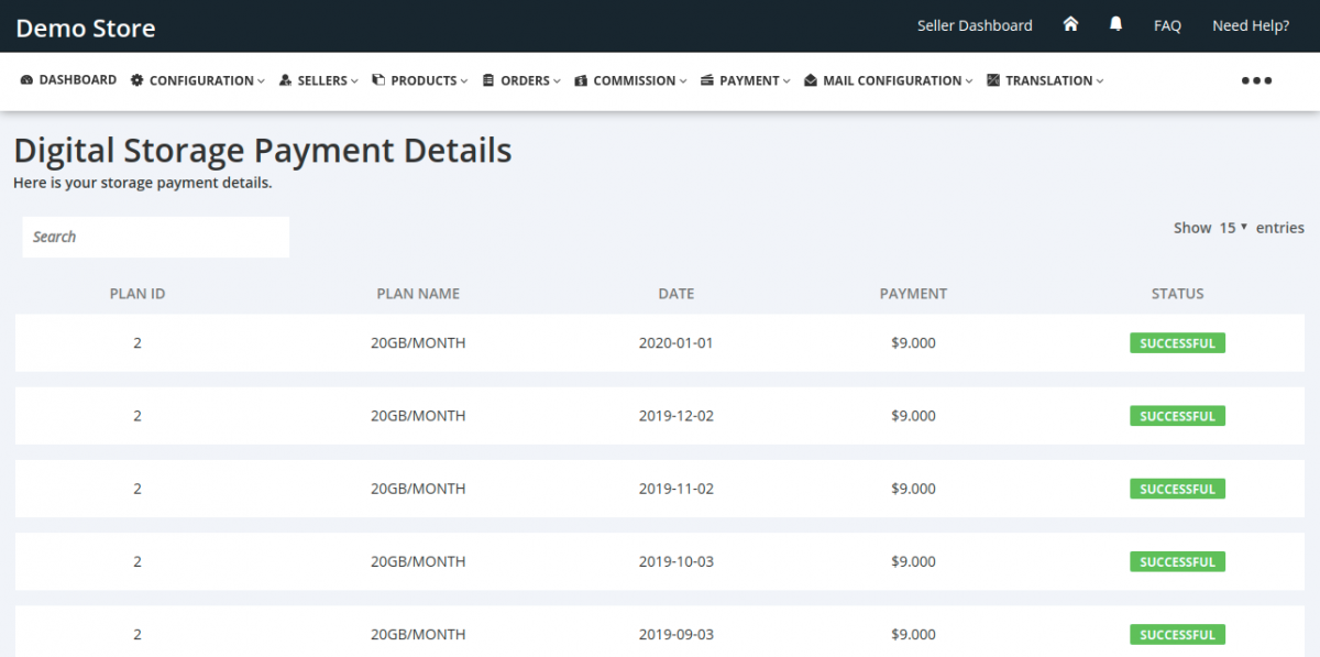 Storage-Payment-History-Admin