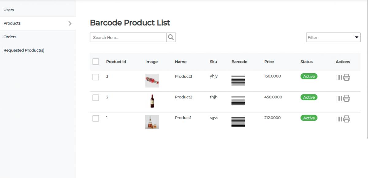bagisto-laravel-eCommerce-Point-of-sale-barcode-product-list