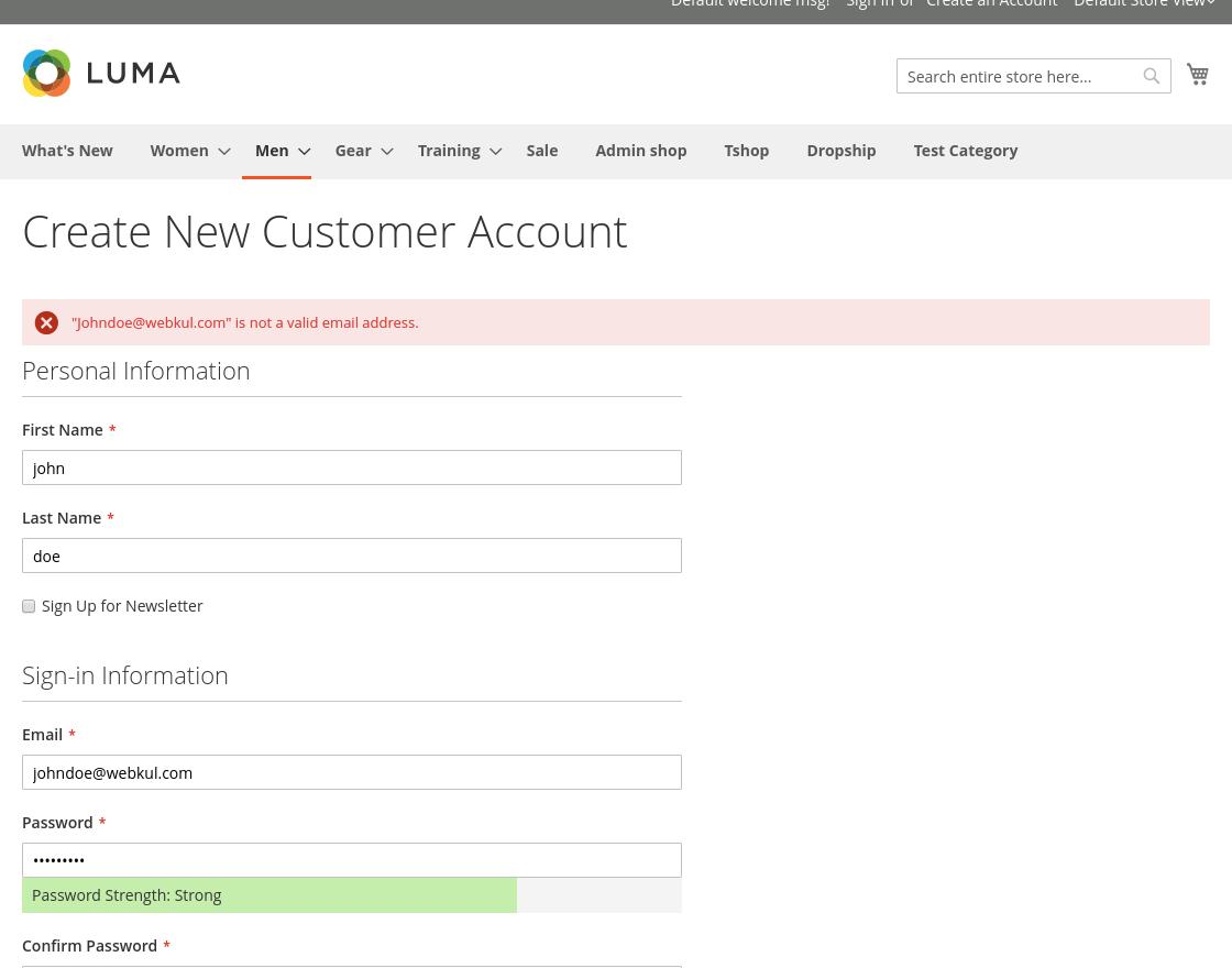 Magento2 security customer account