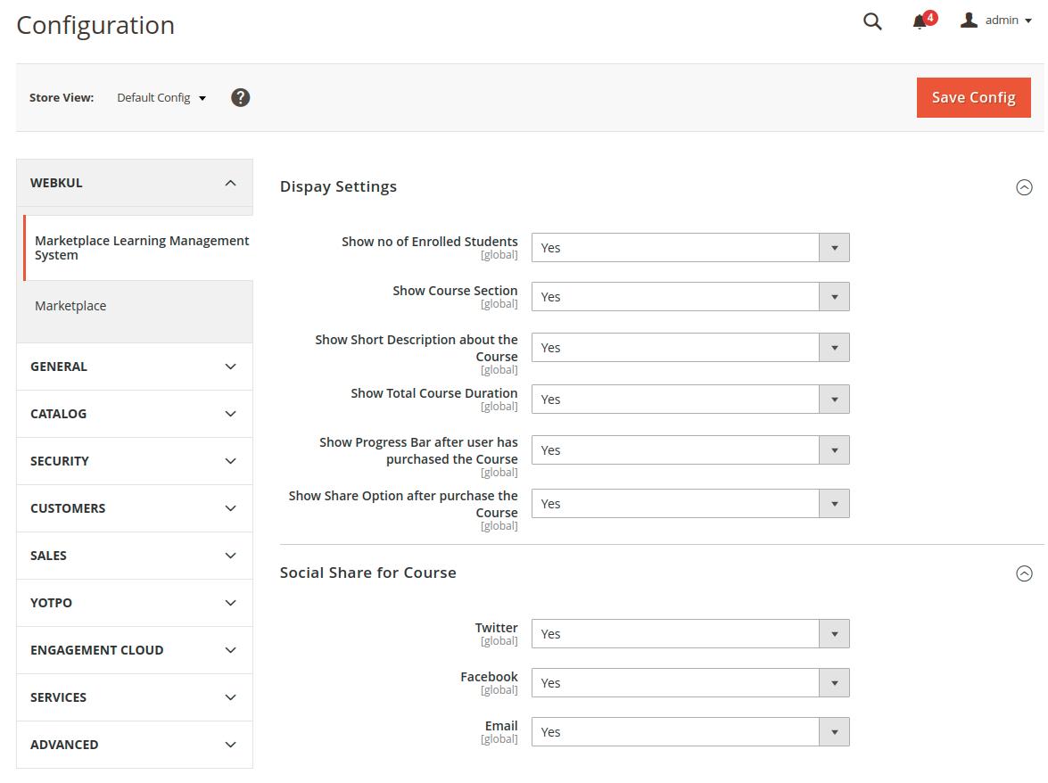 webkul-magento2-learning-management-marketplace-configurations