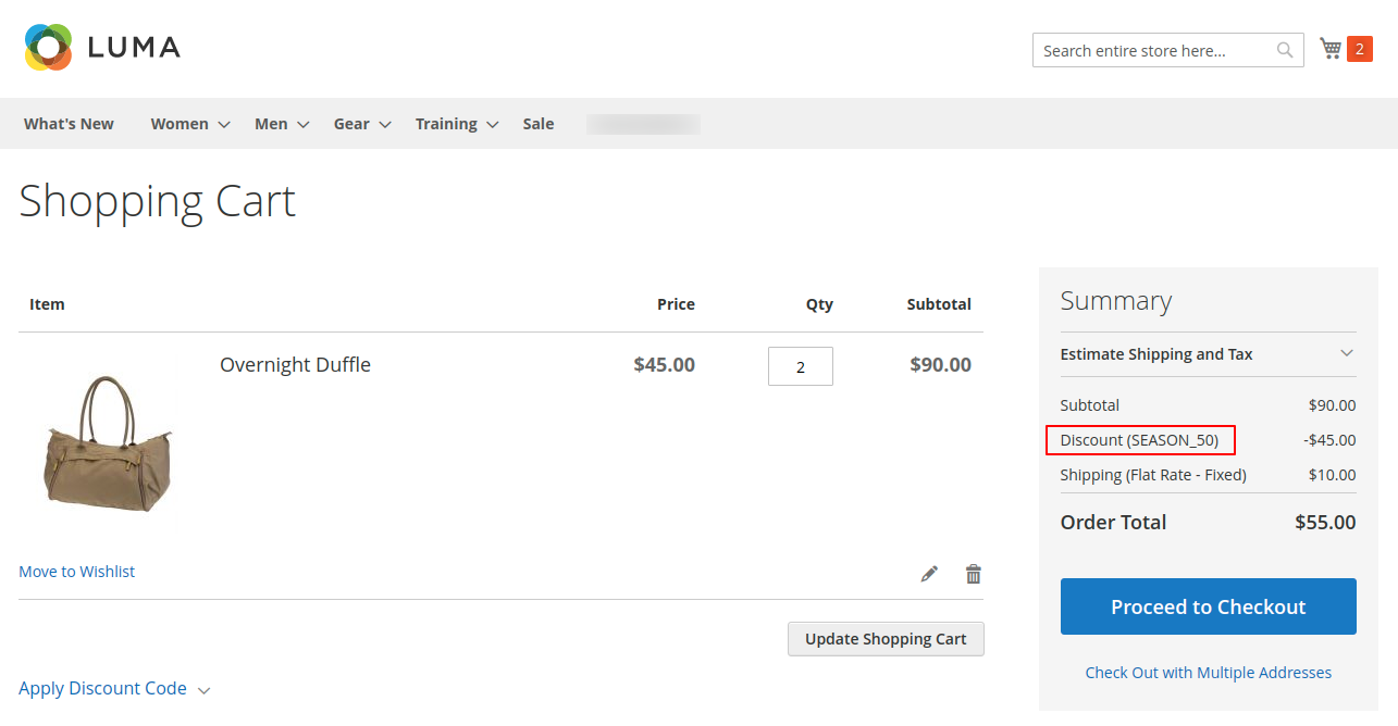 webkul-magento2-multiple-coupon-codes-discount-applied-on-subtotal-1