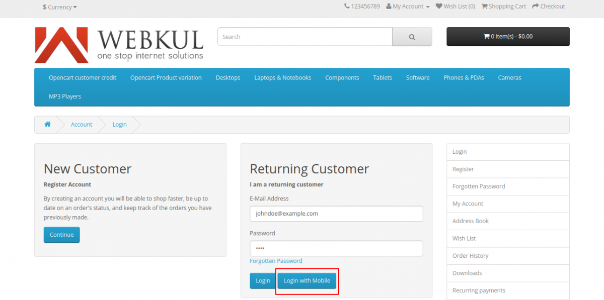 webkul-opencart-login-by-mobile-customer-homepage-login-by-mobile-button-1