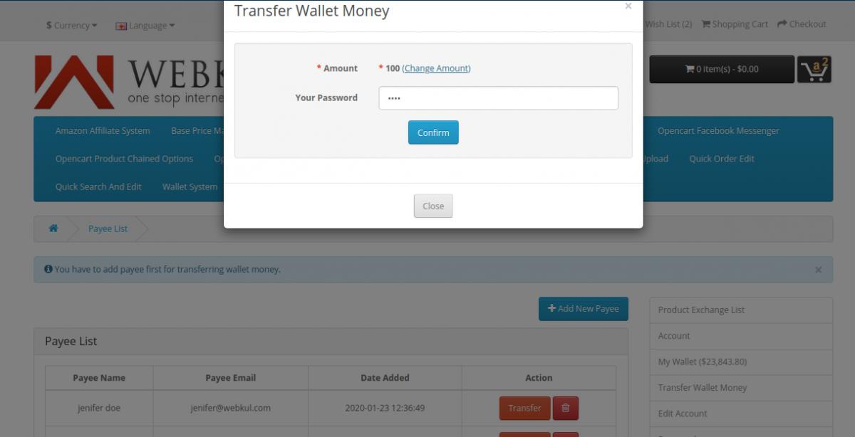 webkul-opencart-wallet-system-add-password