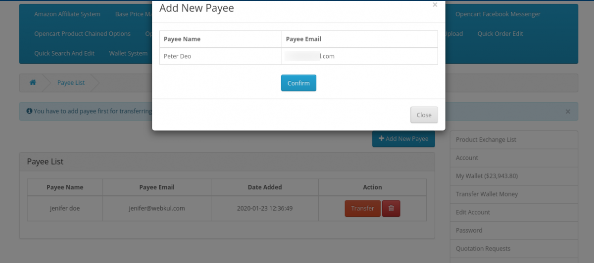 webkul-opencart-wallet-system-confirm-payee