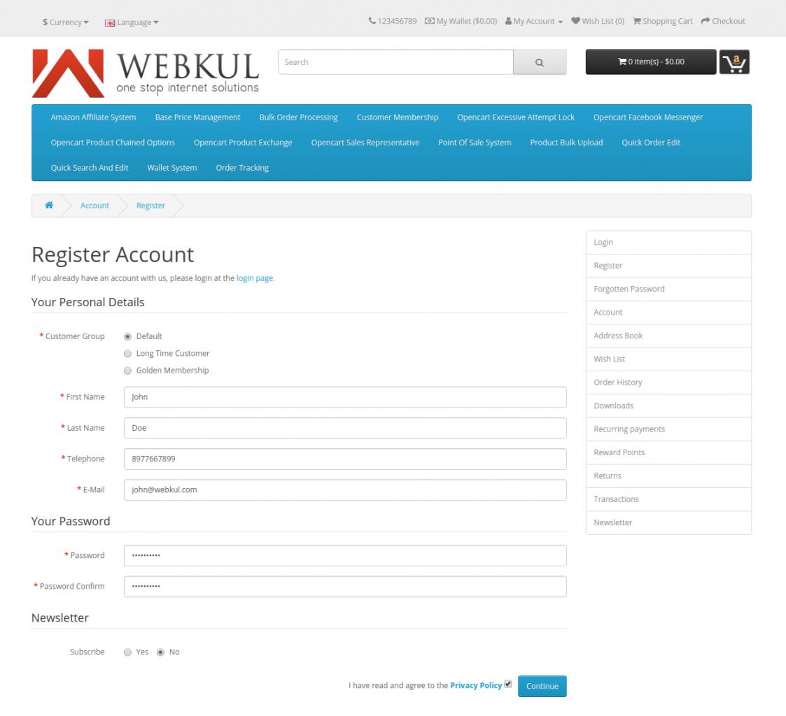 webkul-opencart-wallet-system-new-customer-registration