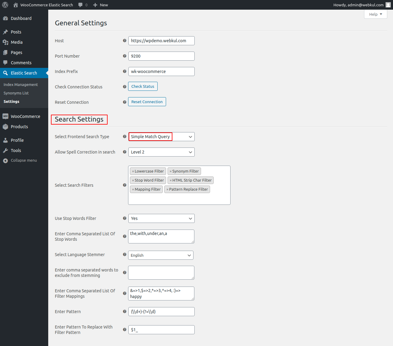 webkul-woocommerce-elasticsearch-search-setting-simple-match-query-1