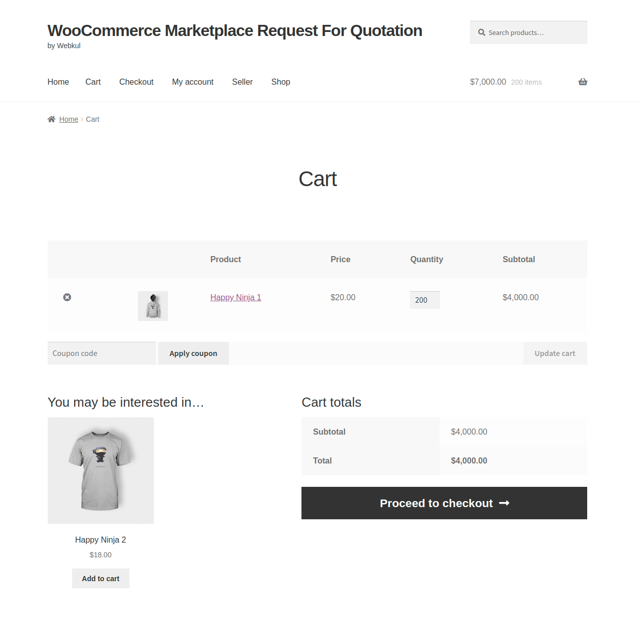 webkul-woocommerce-marketplace-request-for-quotation-cart-page
