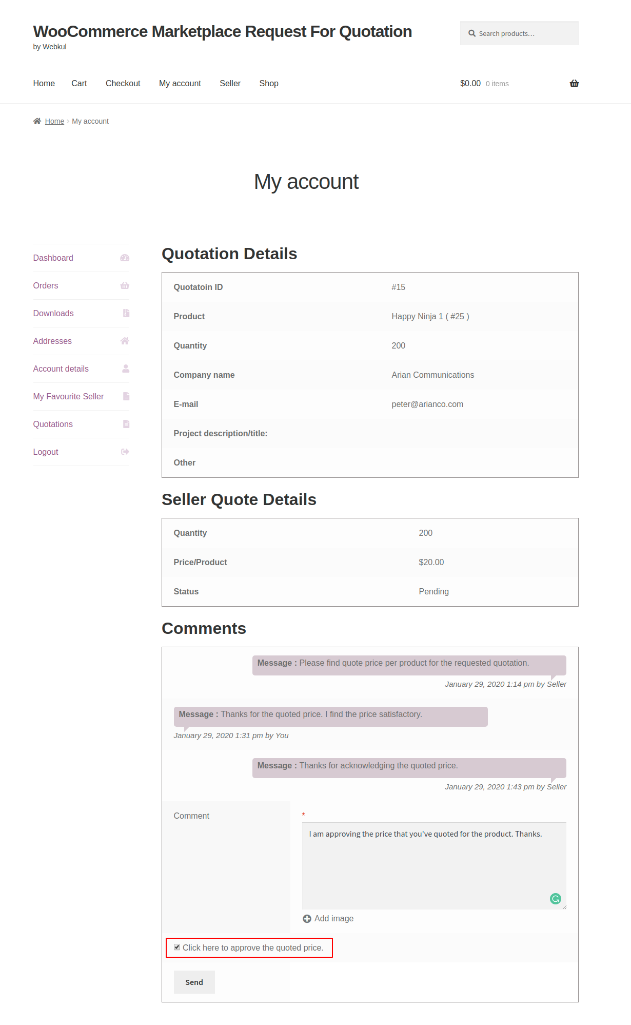 webkul-woocommerce-marketplace-request-for-quotation-customer-end-approving-quote-1