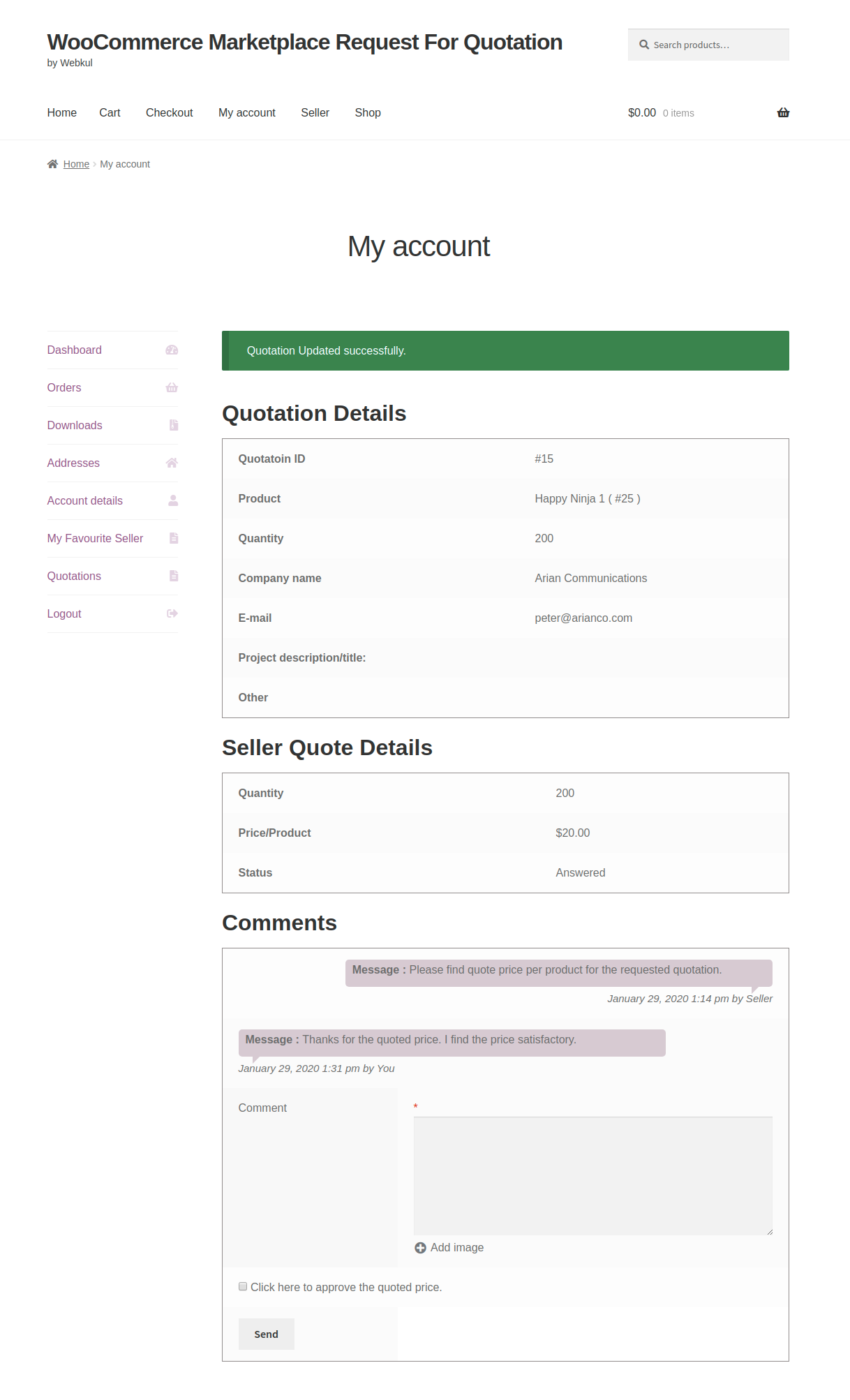 webkul-woocommerce-marketplace-request-for-quotation-customer-end-reply-added