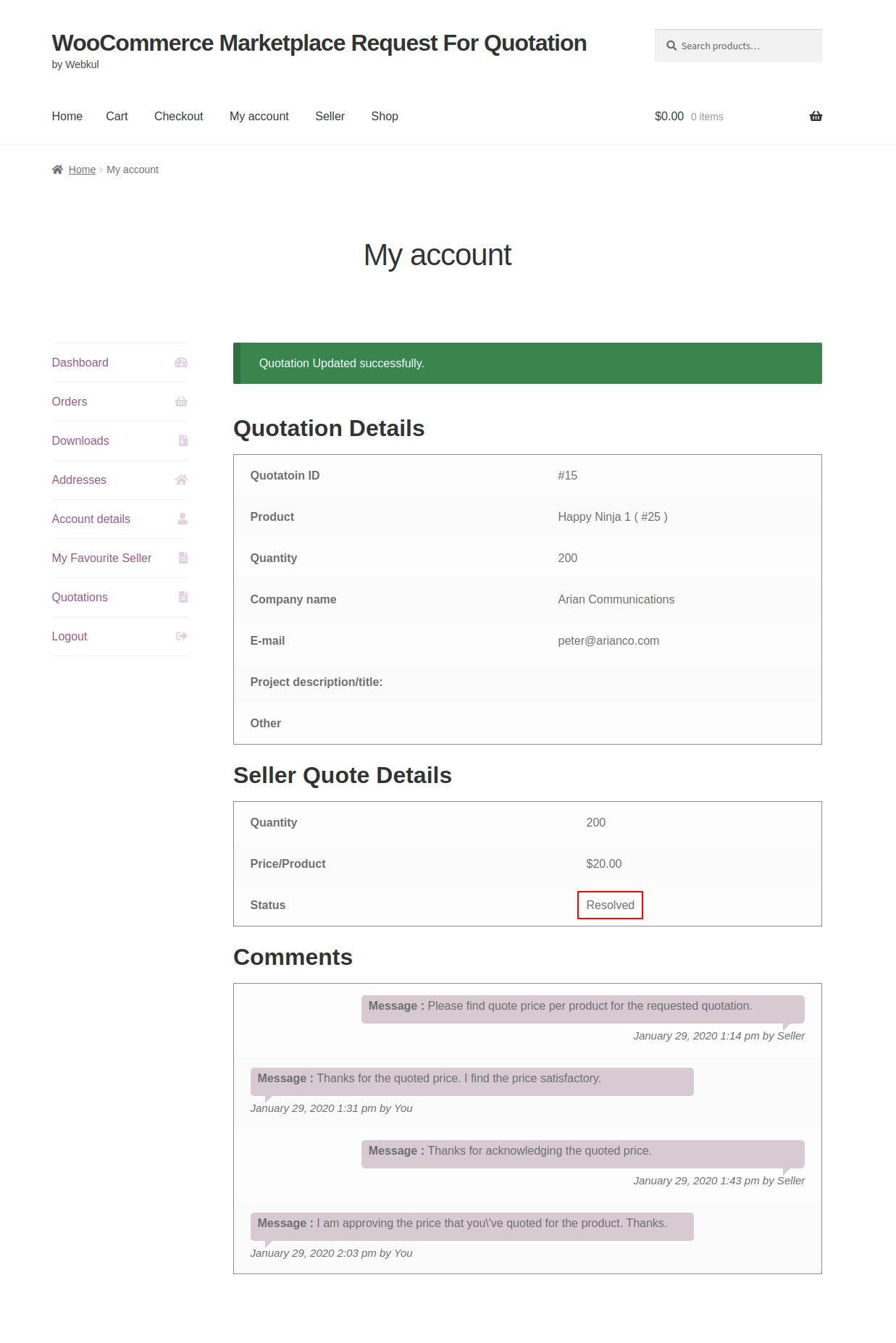 webkul-woocommerce-marketplace-request-for-quotation-customer-end-resolved-status