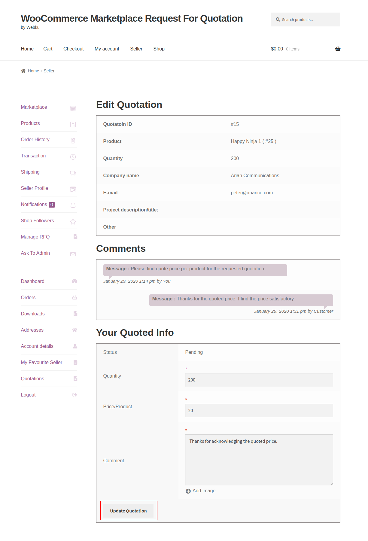 webkul-woocommerce-marketplace-request-for-quotation-seller-end-adding-pending-quote-info