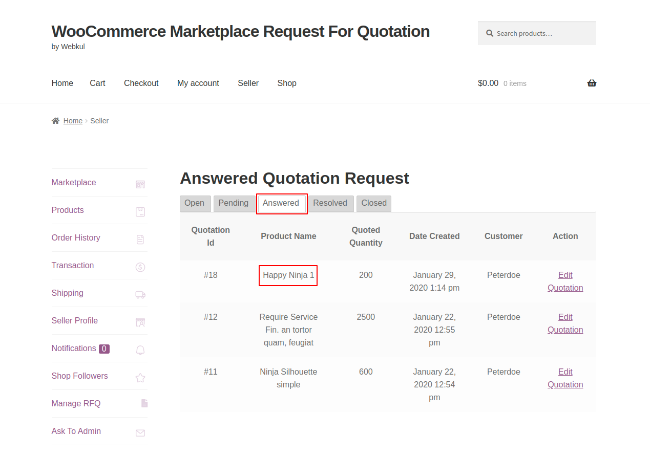 webkul-woocommerce-marketplace-request-for-quotation-seller-end-quote-listed-under-answered-tab