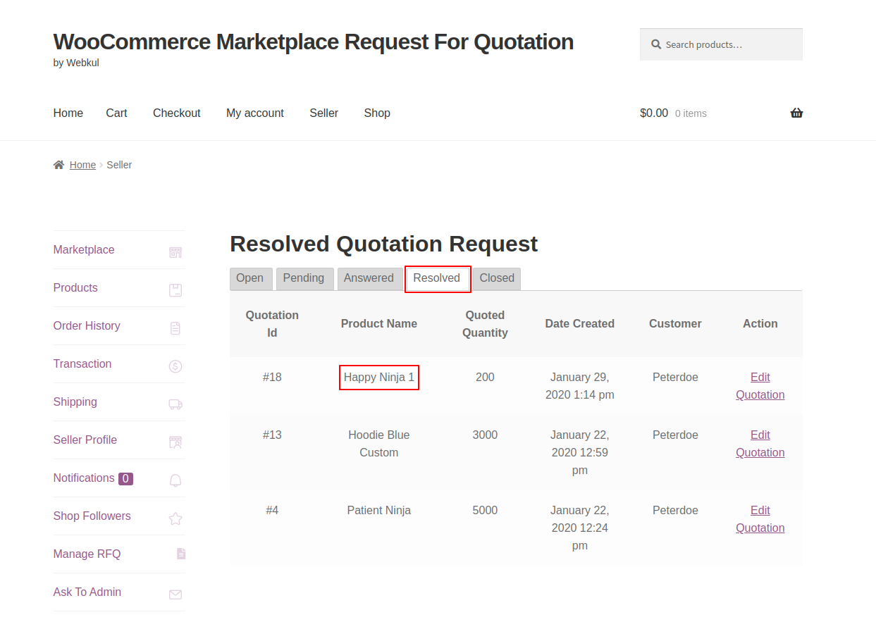 webkul-woocommerce-marketplace-request-for-quotation-seller-end-view-quote-under-resolved