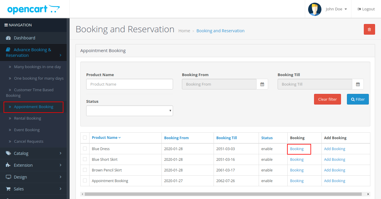 Booking-and-Reservation