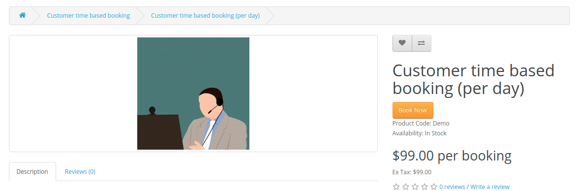 Customer-time-based-booking-per-day-