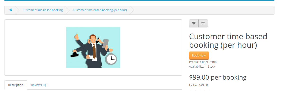 Customer-time-based-booking-per-hour-