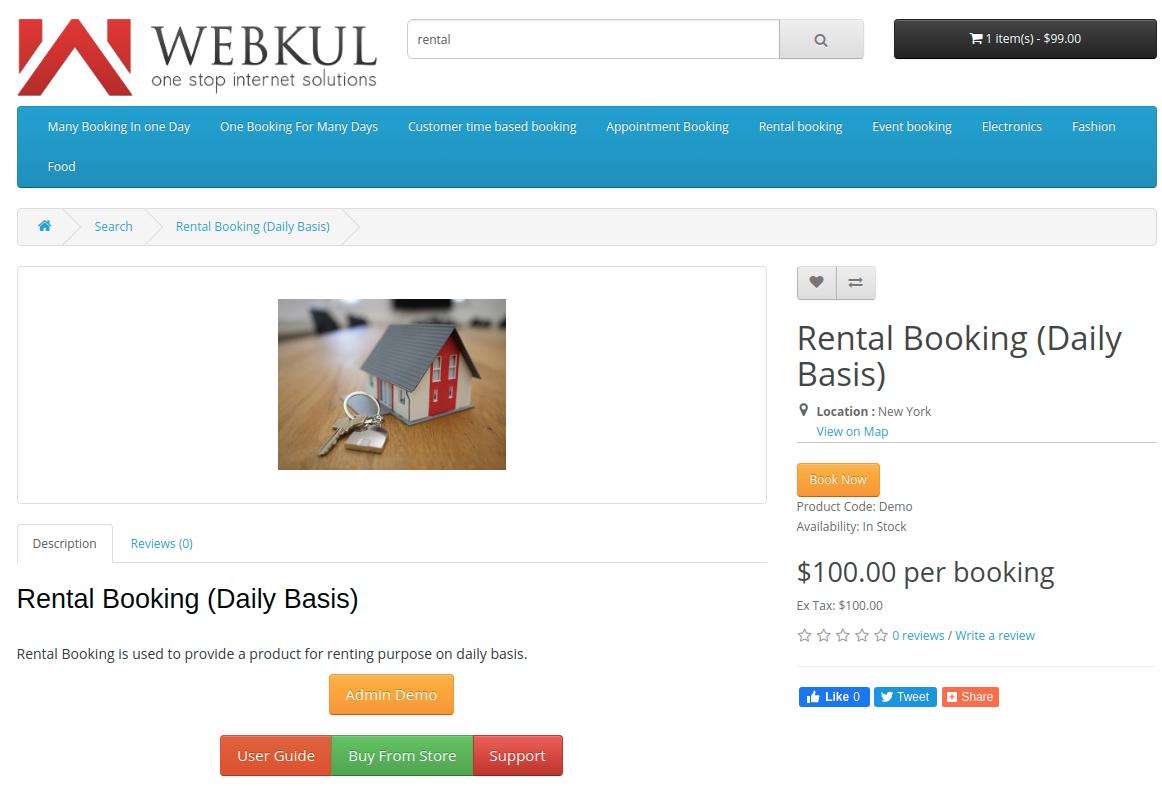 Rental-Booking-Daily-Basis-