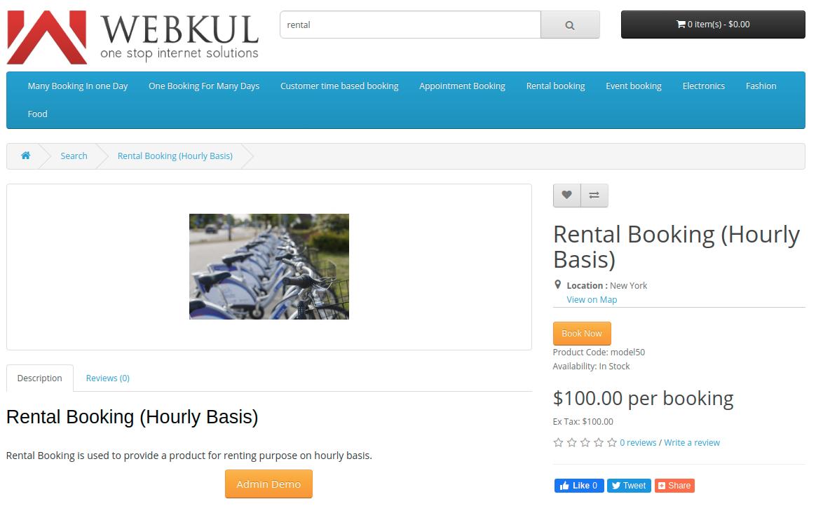 Rental-Booking-HourlyBasis