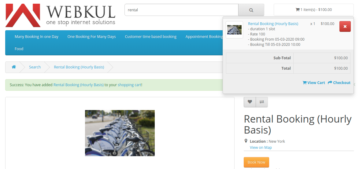 RentalBooking-Hourly-Basis-