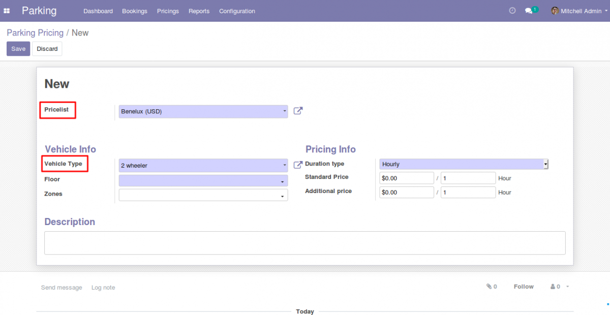 Configuring Parking Prices 2