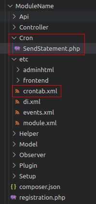 create cron