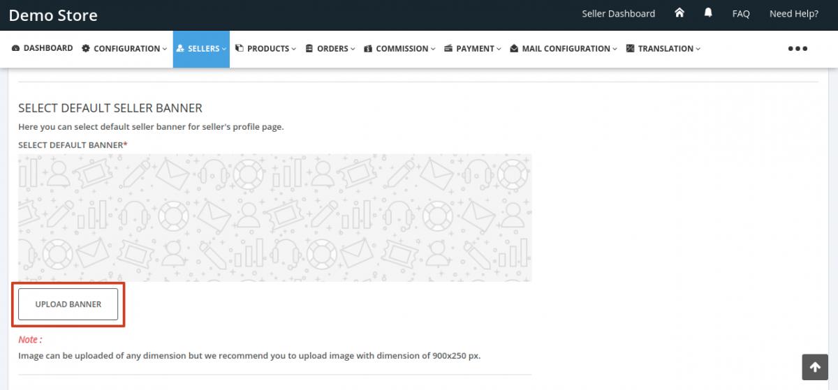 Seller-Profile-Page-Setting-Admin