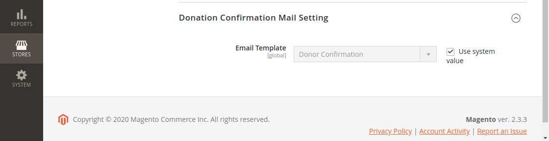 Crowd Sourcing Fund Pool - Mail Settings