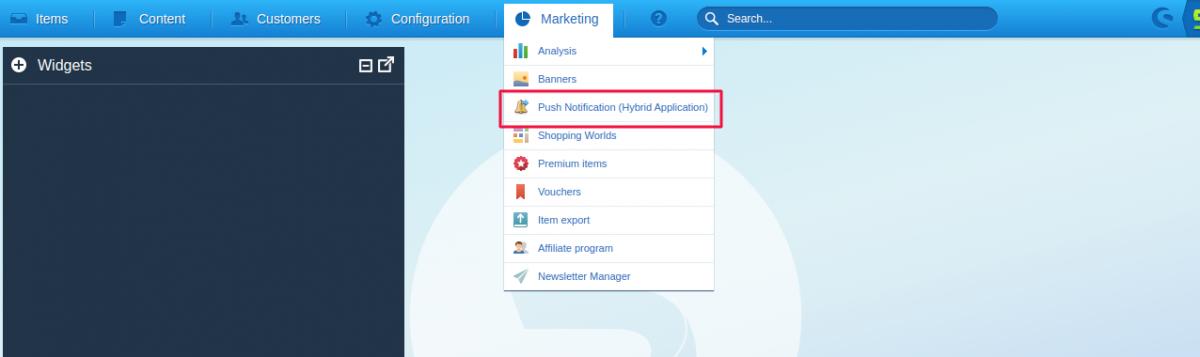 push-notification-shopware-hybrid-mobile-app