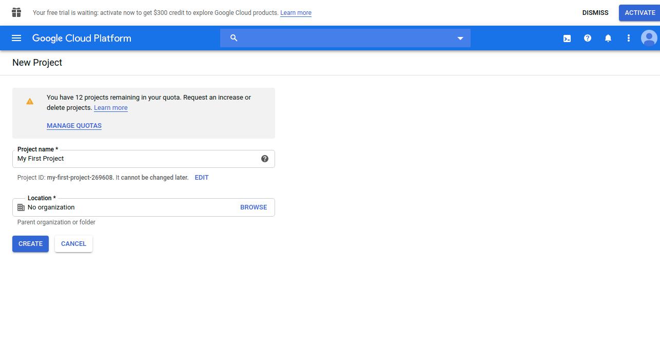 webkul-generate-google-map-keys-project-details