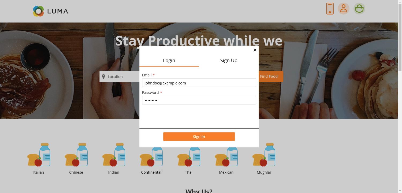 webkul-magento2-food-delivery-maketplace-customer-login