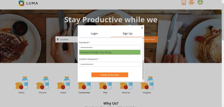 webkul-magento2-Online Food Delivery-customer-register