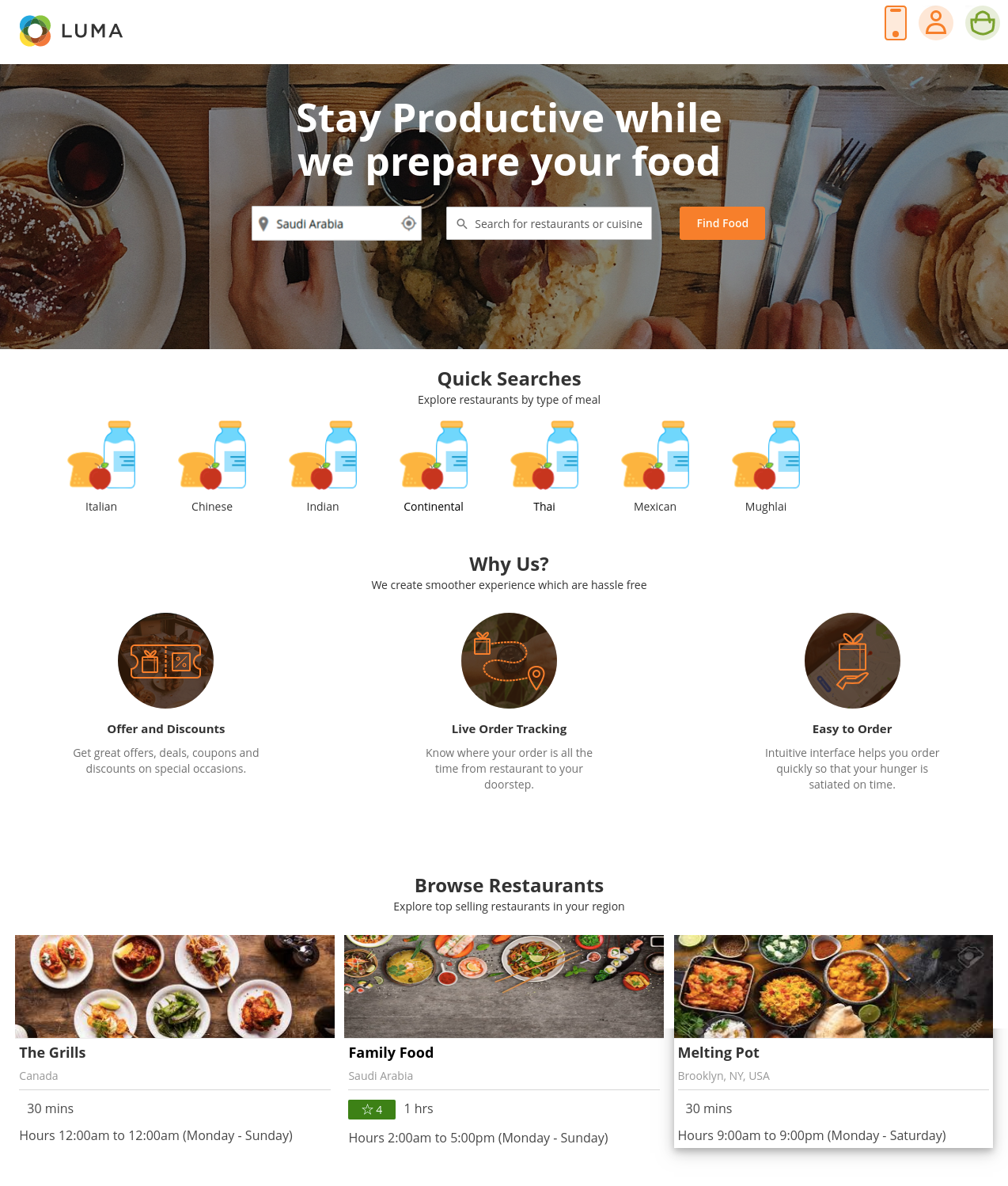 webkul-magento2-Online Food Delivery_frontend-dashboard-1