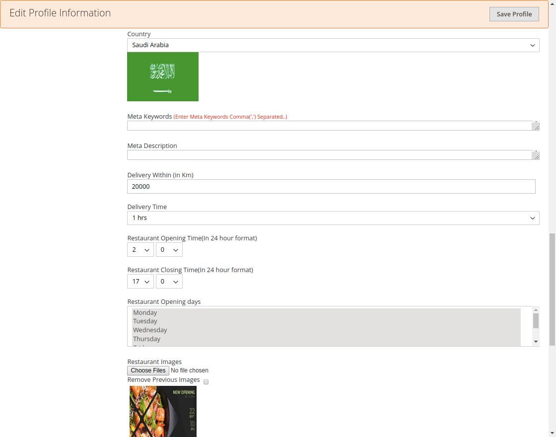webkul-magento2_Online Food Delivery-seller-manage-restaurant-one