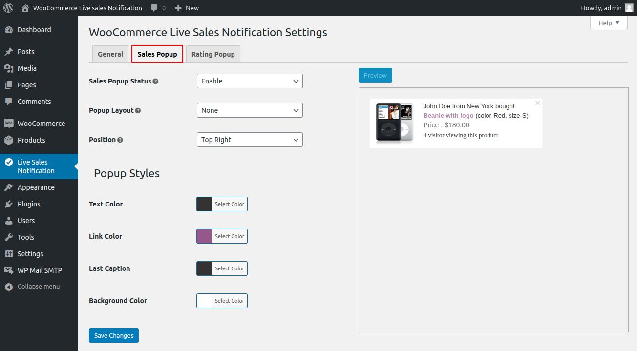 webkul-woocommerce-live-sales-notification-sales-popup